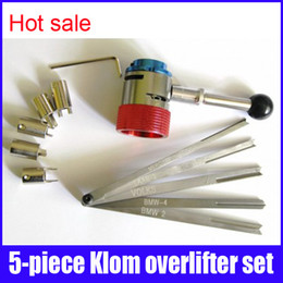 Wholesale High quality klom rake overlifters set locksmith tools lock pick for Mercedes Saab BMW BMW a Volkswagen