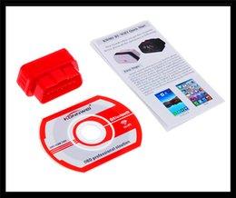 Wholesale 2015 New KW901 OBD2 OBD II ELM327 Wifi Bluetooth Car Auto Diagnostic Scan Tools Sofeware Computer Detector For Smartphone Free DHL