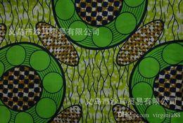 Wholesale African super block wax print fabric yard cotton fabric African wind pure African batik