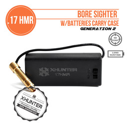 Wholesale Xhunter Laser HMR Bore Sighter w Battery Pack Rifle Red Dot Boresighter