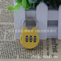 Wholesale Supply GS C lock luggage padlock lock cartoon backpack lock notebook lock consult Before buy C