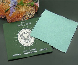Wholesale Cotton Fleece Jewelry Silver Polishing Cloth Fashion Jewelry Cleaner Multi Color x80mm pieces