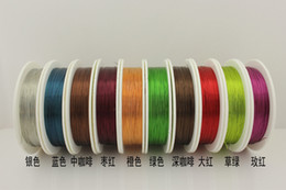 Wholesale Meters Silver Copper Beading Jewelry Wire Craft mm gauge