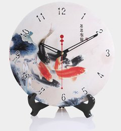 Painted wood clock wall clock dual-use fashion watches and clocks big 12 clock mute
