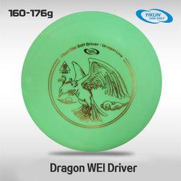 Wholesale Professional Yikun Disc Golf Driver Dragon Line WEI Green PDGA Approval