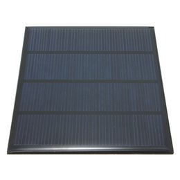 Wholesale Hot sale Excellent quality V W Epoxy Solar Panels Mini Solar Cells Polycrystalline Silicon Solar DIY Solar Module