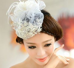 Bridal Accessories Tiara Hair Accessories For Wedding Bridal Hats New Arrival Ivory