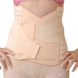 Wholesale-2015 NEW Maternity Corset Support Recovery Tummy Belly Waist Belt Shaper Slimming Body 61SU