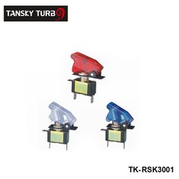 Wholesale Tansky Racing Switch Kit Car Electronics Switch Panels Flip up Start Ignition Accessory For Universal Have In Stock TK RSK3001