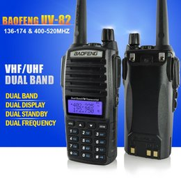 Wholesale BaoFeng UV Dual Band MHz FM Ham Two way Radio Transceiver HT With Battery Antenna and Charger