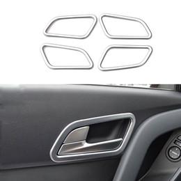 Wholesale 4 Set Car Styling ABS Interior Door Handle Armrest Cover Trim Decorative Sequins Accessories For Hyundai IX25 Creta
