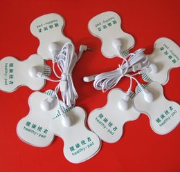 Wholesale new TENS Healthy Electrode Pads in1 Electrode wire plug size mm for OMRON Tens Unit