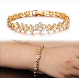 Wholesale Ms k gold bracelet with the bride adorn article fashion design exquisite set auger party decorations