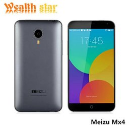 Wholesale In Stock Meizu MX4 G FDD LTE Android MTK6595 Octa Core x1152 M G ROM Flyme4 Mobile phone