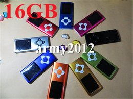 Wholesale 100 real GB builit in memory capacity th Gen MP4 Player LCD Screen Plum button Video Radio FM MP3 MP4 music player With box