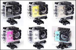 Waterproof sports camera 2.0 Inch LCD Screen Sj4000 1080P Full HD HDMI Camcorders Sport DV 30M Action Camera D10 free shipping