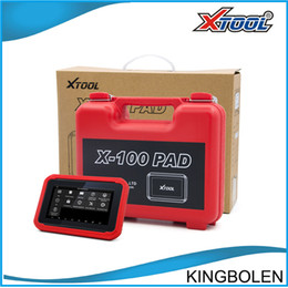 Wholesale Original XTOOL X100 PAD Same as X300 Plus Auto Key Programmer Update Online Odometer correction x Pad pro with EEprom DHL