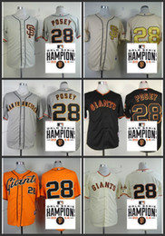 Wholesale san francisco giants buster posey Baseball Jersey Cheap Rugby Jerseys Authentic Stitched Size