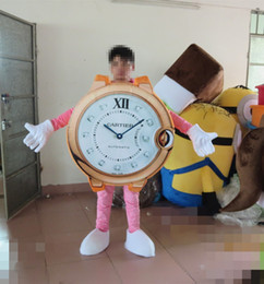 Wholesale Watch Mascot costume Advertising Mascots mascot suit