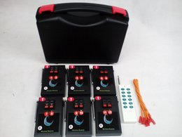 Wholesale Outdoor carry CH Fireworks Firing system Wedding stage Child safety equipment Receiver Transmitter Party Suppli