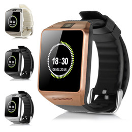 Wholesale New Arrival GV08 Smart Watch Bluetooth Smartwatch For Android Smart Phones With Camera Support Sim Card GV08 Smart Watches