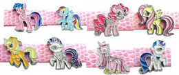 (20 , 50)PCS lot 8MM Mix Ponys DIY Slide Charms Alloy Horse Accessories Fit For 8mm Leather Wristband Keychains AS Holiday Gift
