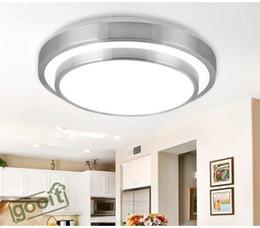 minimalismo doble capa de aluminio de techo lmpara de techo led smd ligeros para de