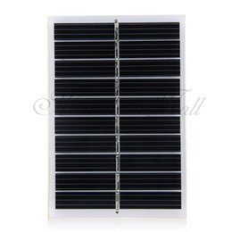 Wholesale V W mA Mini Solar Panel Module DIY for Cell Charger