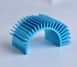 Wholesale hot selling Aluminum Heatsink Alloy brushless motor radiator heat sink Model car accessories