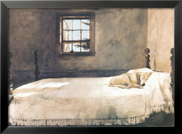 Wholesale Andrew Wyeth s oil painting for pub MASTER BEDROOM buy high quality reproduction