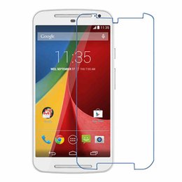 Wholesale Professinal Premium Tempered Glass Screen Protector For Motorola X1085 E2 DROID RAZR M Without Ratails box