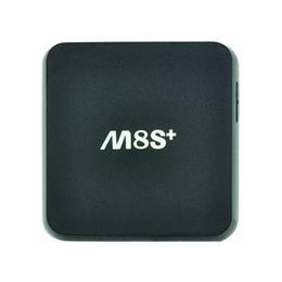 Wholesale M8S Plus M8S K Android Quad Core TV Box KODI Jarvis Streaming Media Player Dual Band Wifi G G b g n AC Gigabit Lan M