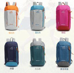 10L backpack men's travel bags hiking backpacks sport bag Women's Outdoor Leisure Travel Backpack Unisex packs