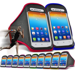 Wholesale-Cell Mobile Phone Bags Cases For Lenovo S650 Case Running Gym Sports Armband Case for Cell Phones