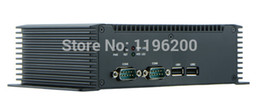 Wholesale Fanless computador six serial port Intel Atom N2600 mini pc for on board computer NFN80L mini pc windows