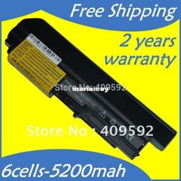 Wholesale High quality HOT Laptop Battery U3196 U3198 ASM T5265 FRU T4548 T5262 T5264 for IBM Lenovo ThinkPad R400 R61 R61i T61 T61u T61