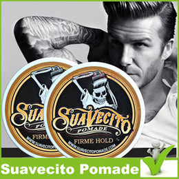 Suavecito Pomade Strong style restoring ancient ways big skeleton hair slicked back hair oil wax mud free shipping Suavecito Pomade