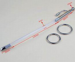Double function urethral probe urethral sound urethra vibrators Prince Wand penis plug