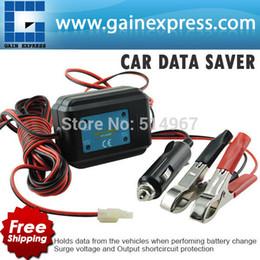 Wholesale Car Data Saver V DC Hold Memory Code Engine Maintenance Radio Station Clock Setting