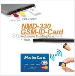 Wholesale GSM ID Card GSM ID BOX L IMEI Unique W Amplifier with Hidden In Ear Audio Receiver Wireless Earpiece