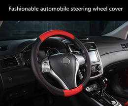 Fashionable Universal automobile steering wheel cover suitable for 38cm car styling