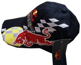 Wholesale f1 formula one team hat motorcycle racing driver team hat basebll cap blue with tag