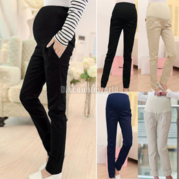 2015 Top Selling Women Pregnancy Maternity Over Bump Pencil Pants Trousers Size S-XL 4 Colors Drop Shipping