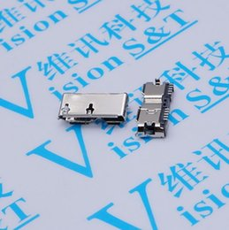 3 USB MICRO mother seat 11.3MM feet away from the 3 Mike B type 10P mobile hard disk interface