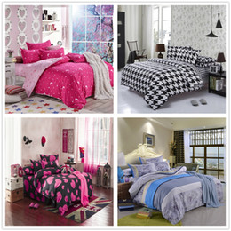 Wholesale-Comforter bedding set, twin full queen king and super king size, 4 pcs bedding, single double bed sheet set
