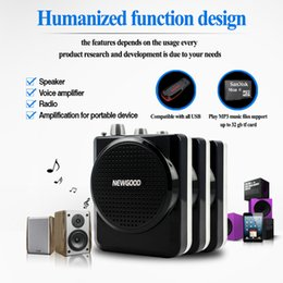 Wholesale 2016 New cool electronic wired headset professional voice amplifier megaphone for sales promotion at shop exhibition show shopping mall etc