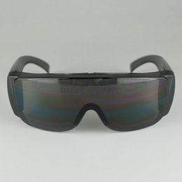 Wholesale Safety Goggles Free Shipping - Safety Goggles Anti-Scratched Big Frame Safety Glasses Dust-proof Wind-proof Labour Protective Black And White 20PCS Free Ship