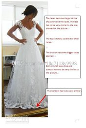 Wholesale real picture dress spoon antique lace applique sexy crystal cheap wedding dress