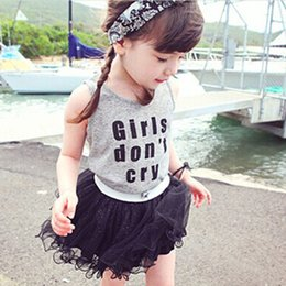 Girls T-shirts Kids Clothing 2016 New Summer Korean Print Letter Fashion Short Sleeve Cotton T-Shirts NT-1012