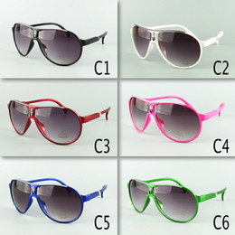 Wholesale New Arrival Kids Avaitor Sunglasses Children Sunglasses PC Frame Mixed Colors Kids Size Free Shipment